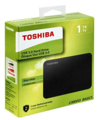 Hard Disc Esterno Toshiba 1TB